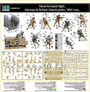 MasterBox-Hand-to-Hand-Fight-WWI-294x300 Neue MasterBox-Figurensets angekündigt!