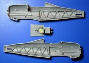 Merit-Gloster-Gladiator-Baubericht-Rumpfgerüst-300x212 Die neue Gloster Gladiator Mk. I von Merit im Maßstab 1:48