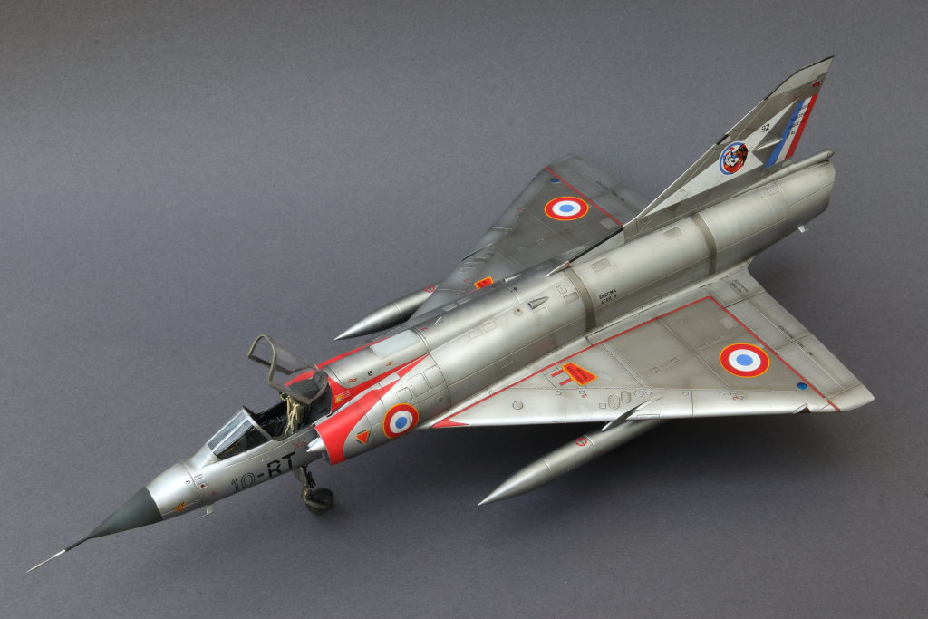 Mirage_IIIC_03 Mirage IIIC - Eduard Weekend Edition - 1/48 --- #8496