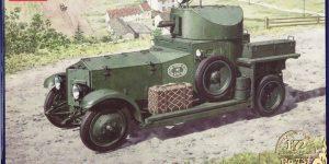 Rolls Royce Armoured Car von Roden im Maßstab1:72