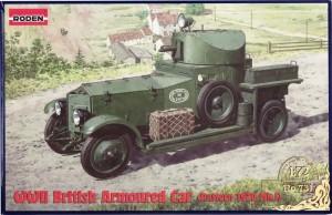 Roden Ro731 RollsRoyce British Armoured Car 1zu72 (20)