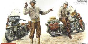 Harley Davidson WLA Miniart 1:35