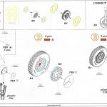 Anleitung4-150x150 P-39 wheels early/late Eduard 1:48 (648 202 und 648 203)