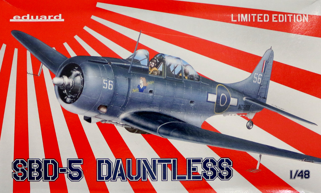 Box-13 SBD-5 Dauntless Eduard 1:48 (1165)
