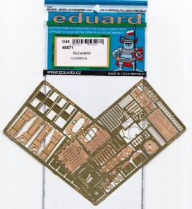 Eduard-48871-Pe-2-Exterior-1-275x300 Eduard Zubehör für die Petljakov Pe-2 von Zvezda (1:48)