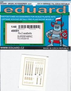 Eduard-49091-Pe-2-Superfabric-Packung-234x300 Eduard Zubehör für die Petljakov Pe-2 von Zvezda (1:48)