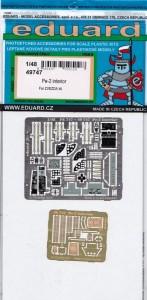 Eduard-49747-Pe-2-Interior-147x300 Eduard Zubehör für die Petljakov Pe-2 von Zvezda (1:48)