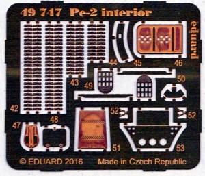 Eduard-49747-Pe-2-Interior-4-300x257 Eduard Zubehör für die Petljakov Pe-2 von Zvezda (1:48)