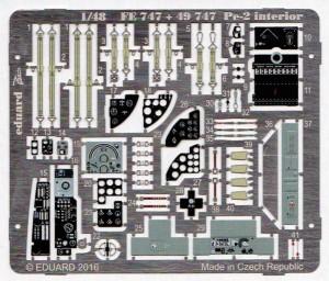 Eduard-49747-Pe-2-Interior-5-300x256 Eduard Zubehör für die Petljakov Pe-2 von Zvezda (1:48)