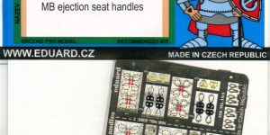 MB Ejection Seat Handles – Eduard – 1/48 — 49740