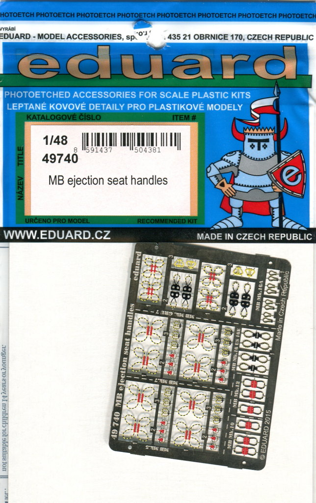 Eduard_MB_Ejection-Seat-Handles_3 MB Ejection Seat Handles - Eduard - 1/48 --- 49740