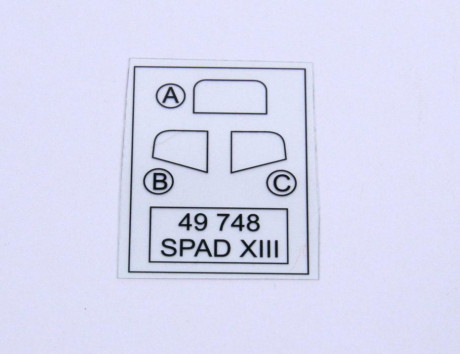 Eduard_Revell-Spad-XIII-Upgrade_02 Eduard - Upgrade Set Revell Spad XIII - 1/48 --- 49748