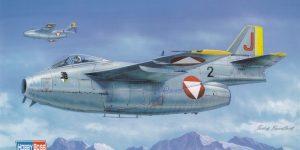 SAAB J.29 Tunnan von Hobby Boss (1:48)