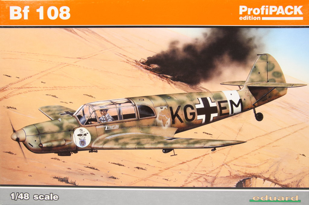 Me-108_Profi_2016_01 Bf 108 - Eduard Profi Pack - 1/48 --- #8078