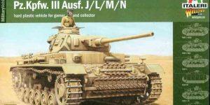 Panzerkampfwagen III von Italeri/Warlord Games (1:56 / 28mm)