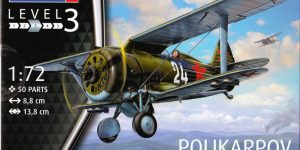 Polikarpov I-153 von Revell 1:72