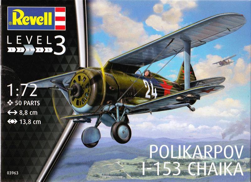 Revell-Polikarpov-I-153-1zu72-23 Polikarpov I-153 von Revell 1:72
