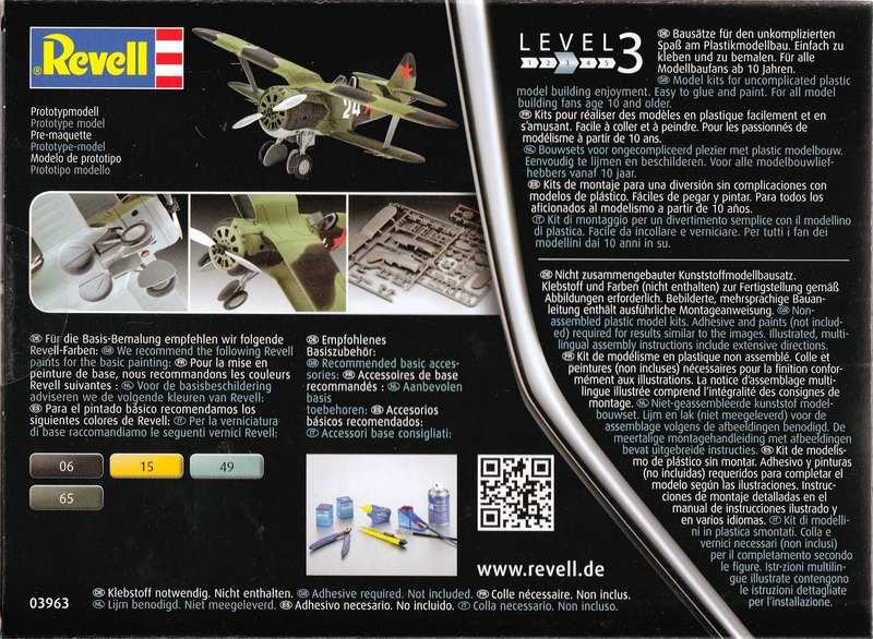 Revell-Polikarpov-I-153-1zu72-24 Polikarpov I-153 von Revell 1:72