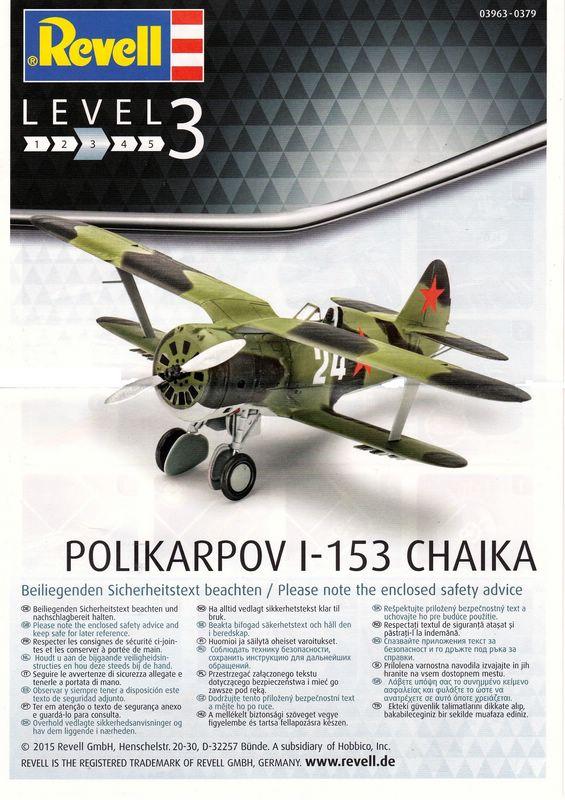 Revell-Polikarpov-I-153-1zu72-25 Polikarpov I-153 von Revell 1:72