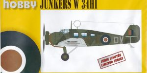 "Junkers ""Wellblechkisten"" im Modell – heute: W34 im Dienste der RAF"