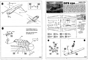 """DFS230_Luftwaffe_Glider_Anleitung1-300x207 DFS 230 """"Unternehmen Rösselsprung"""" Luftwaffe Glider von RS Models in 1:72"""