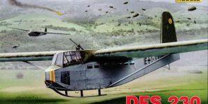 """DFS 230 """"Unternehmen Rösselsprung"""" Luftwaffe Glider von RS Models in 1:72"""