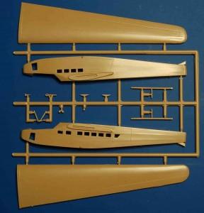 """DFS230_Luftwaffe_Glider_Sprue_2-288x300 DFS 230 """"Unternehmen Rösselsprung"""" Luftwaffe Glider von RS Models in 1:72"""