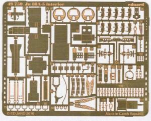 Eduard-49750-Ju-88-A-5-interior-3-300x242 Eduard Detailsets für die Ju 88 A-5 von ICM