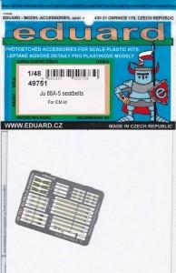 Eduard-49751-Ju-88-A-5-seatbelts-2-194x300 Eduard Detailsets für die Ju 88 A-5 von ICM