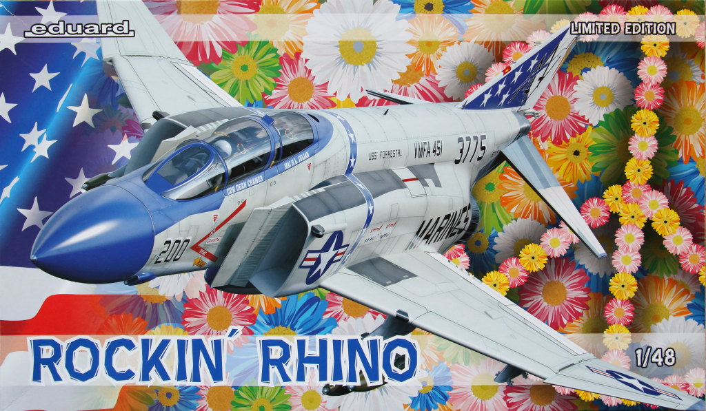 "Eduard_Rockin_Rhino_063 McDonnel Douglas F-4J Phantom II ""Rockin Rhino"" - Eduard Limited Edition - 1/48 ---#1143"