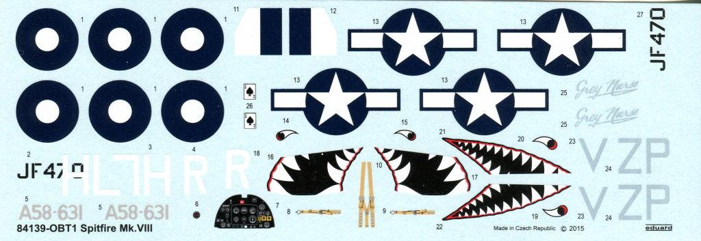 Eduard_Spitfire-Mk.VIII-Weekend_19 Spitfire Mk.VIII - Eduard Weekend Edition - 1/48 --- #84139