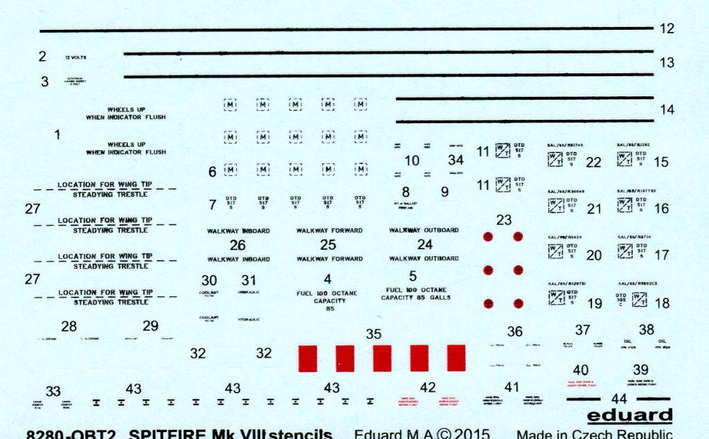 Eduard_Spitfire-Mk.VIII-Weekend_20 Spitfire Mk.VIII - Eduard Weekend Edition - 1/48 --- #84139