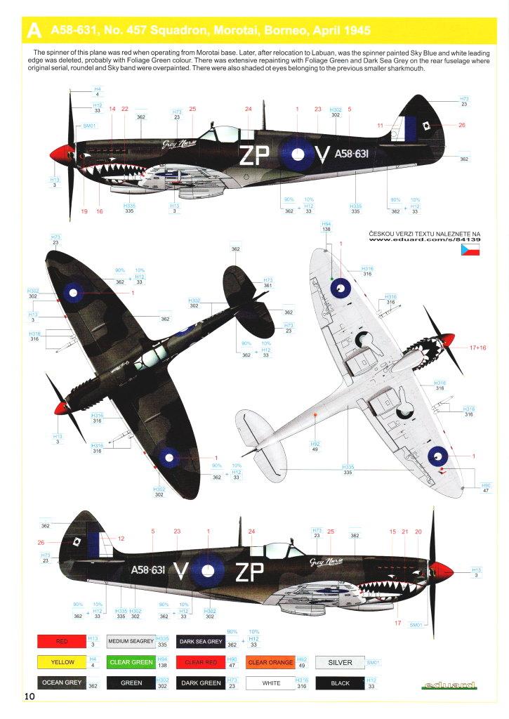 Eduard_Spitfire-Mk.VIII-Weekend_30 Spitfire Mk.VIII - Eduard Weekend Edition - 1/48 --- #84139