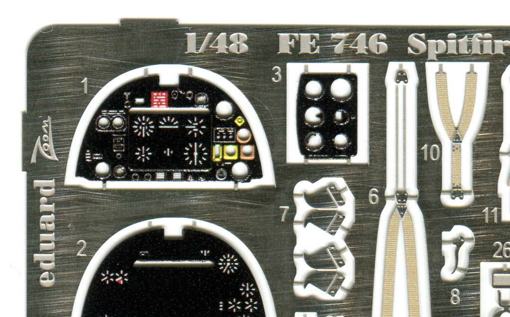 Eduard_Spitfire-Mk.VIII-_Zoom_2 PE-Set Spitfire Mk.VIII Weekend - Eduard Zoom - 1/48 --- #FE746