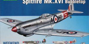 Spitfire Mk.XVI Bubbletop – Eduard Weekend Edition – 1/48 — #84141