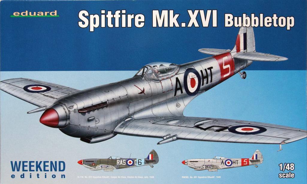 Eduard_Spitfire-Mk.XVI_01 Spitfire Mk.XVI Bubbletop - Eduard Weekend Edition - 1/48 --- #84141