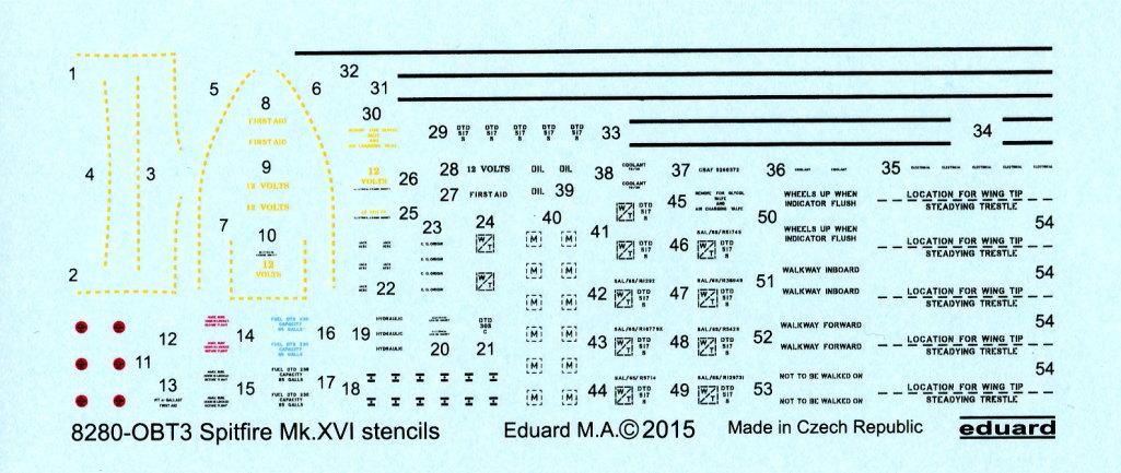 Eduard_Spitfire-Mk.XVI_14 Spitfire Mk.XVI Bubbletop - Eduard Weekend Edition - 1/48 --- #84141