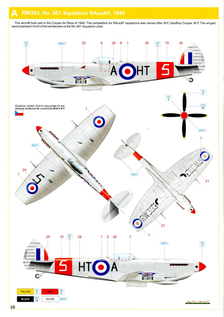 Eduard_Spitfire-Mk.XVI_25 Spitfire Mk.XVI Bubbletop - Eduard Weekend Edition - 1/48 --- #84141