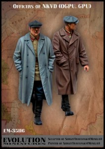 Evolution Miniatures 35116 NKVD Agenten