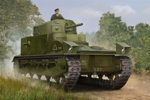 HobbyBoss-Vickers-Medium-Mark-I-Preview-5-300x200 Hobby Boss kündigt einen Vickers Medium Mark I in 1:35 an!