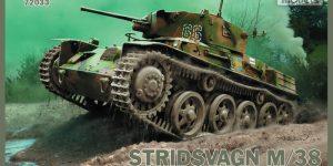 Neue schwedische Panzer von IBG im Maßstab 1:72