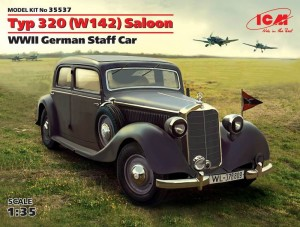 ICM-35537-Mercedes-320-Staff-car-3-300x227 German Staff Car Typ 320 Saloon von ICM (1:35)