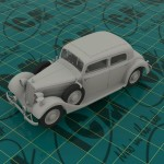 ICM-35537-Mercedes-320-Staff-car-6-150x150 German Staff Car Typ 320 Saloon von ICM (1:35)