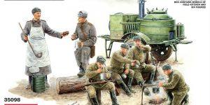 Sowjetische Feldküche KP-42 von MiniArt (1:35)