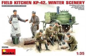 MiniArt-35098-FieldKitchen-KP-42-Winter-Scenery-5-300x197 Sowjetische Feldküche KP-42 von MiniArt (1:35)