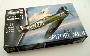 """Revell-03959-Spitfire-Mk.-II-1zu48-DEckelbild-300x186 Revells """"neue"""" Spitfire Mk. II im Quarterscale 1:48"""