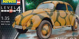 Der neue VW Käfer von Revell im Maßstab 1:35
