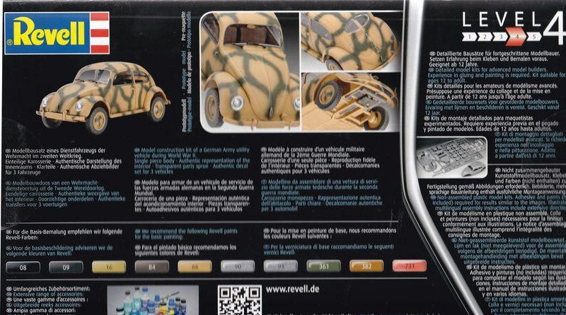 Der neue vw käfer von revell im maßstab u modellbau für alle