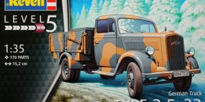 German Truck Type 2,5-32 Revell 1:35 (03250)
