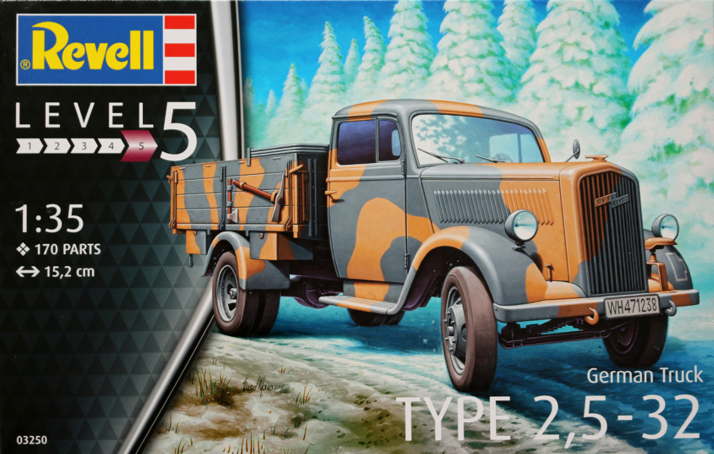 01 German Truck Type 2,5-32 Revell 1:35 (03250)